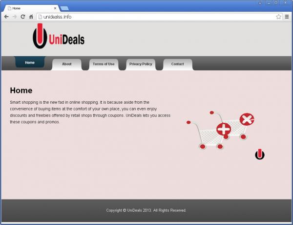 UniDeals – the misleading official facet