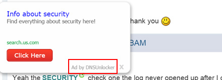 Ads by DNS Unblocker cause a bad web browsing headache