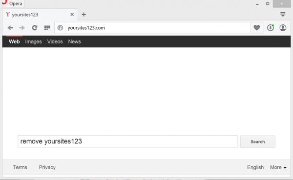 Yoursites123.com screenshot