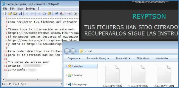 Reyptson ransomware