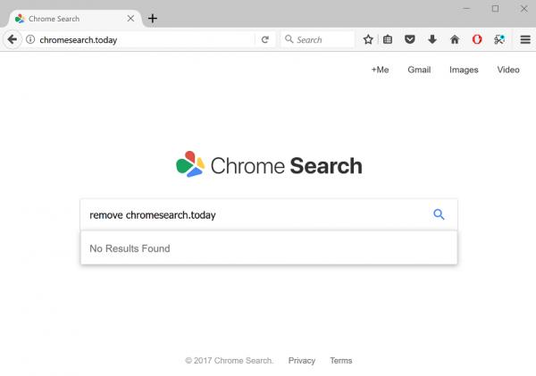 Chromesearch.today screenshot